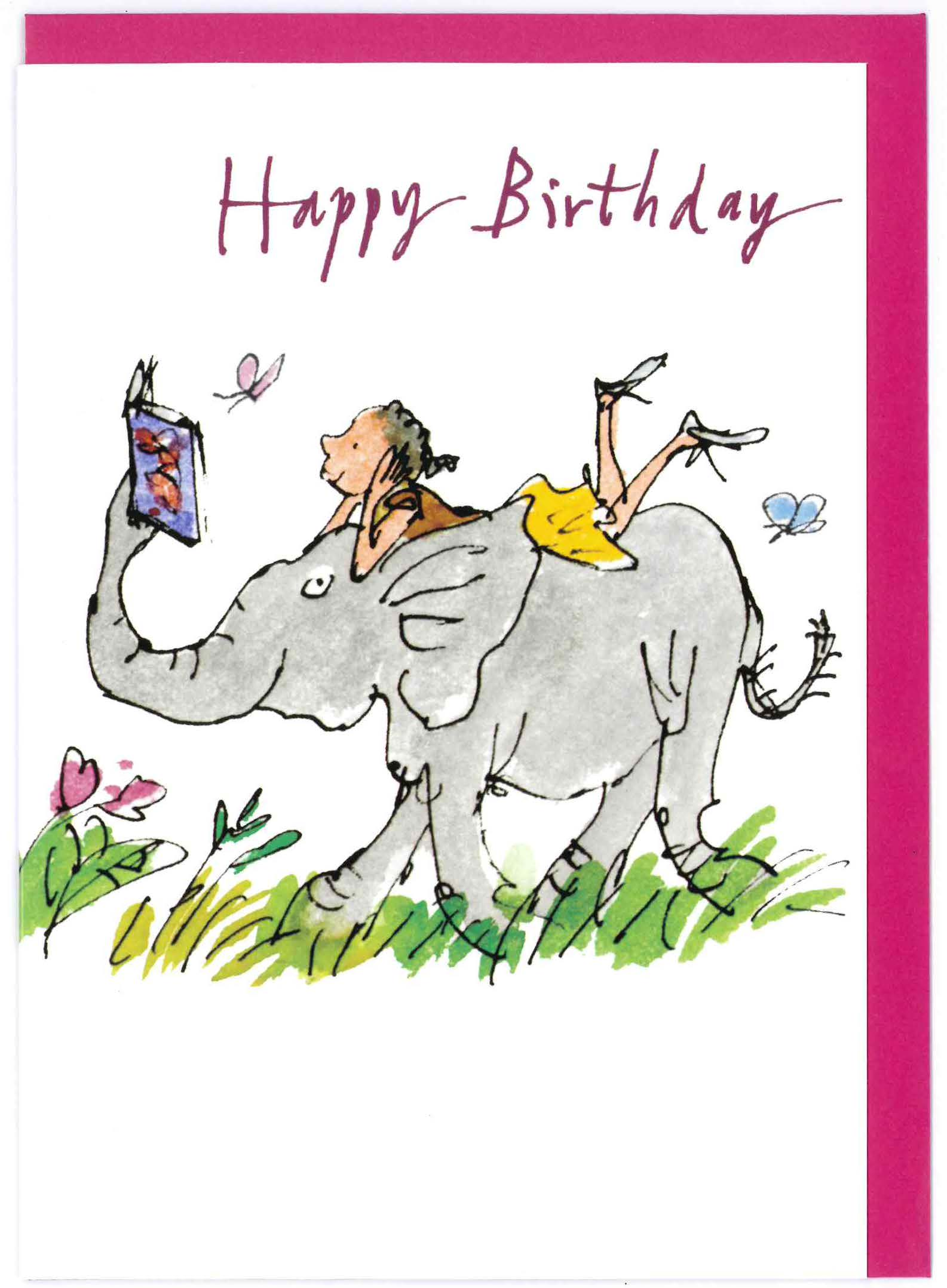 Cards 296147 Woodmansterne Card H Quentin Blake